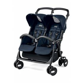Коляска для двойни Aria Shopper Twin Peg-Perego Mod Navy