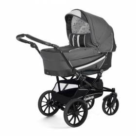 Комплект 2 в 1 Emmaljunga Edge Duo Combi dark grey (без шасси) 12624