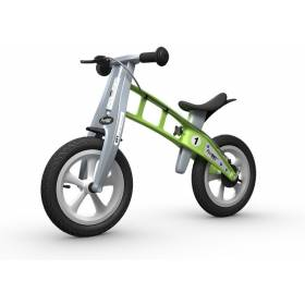 Беговел FirstBIKE Street с тормозами Green