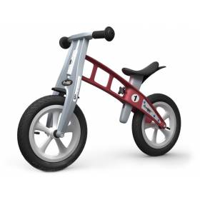 Беговел FirstBIKE Street без тормоза Red