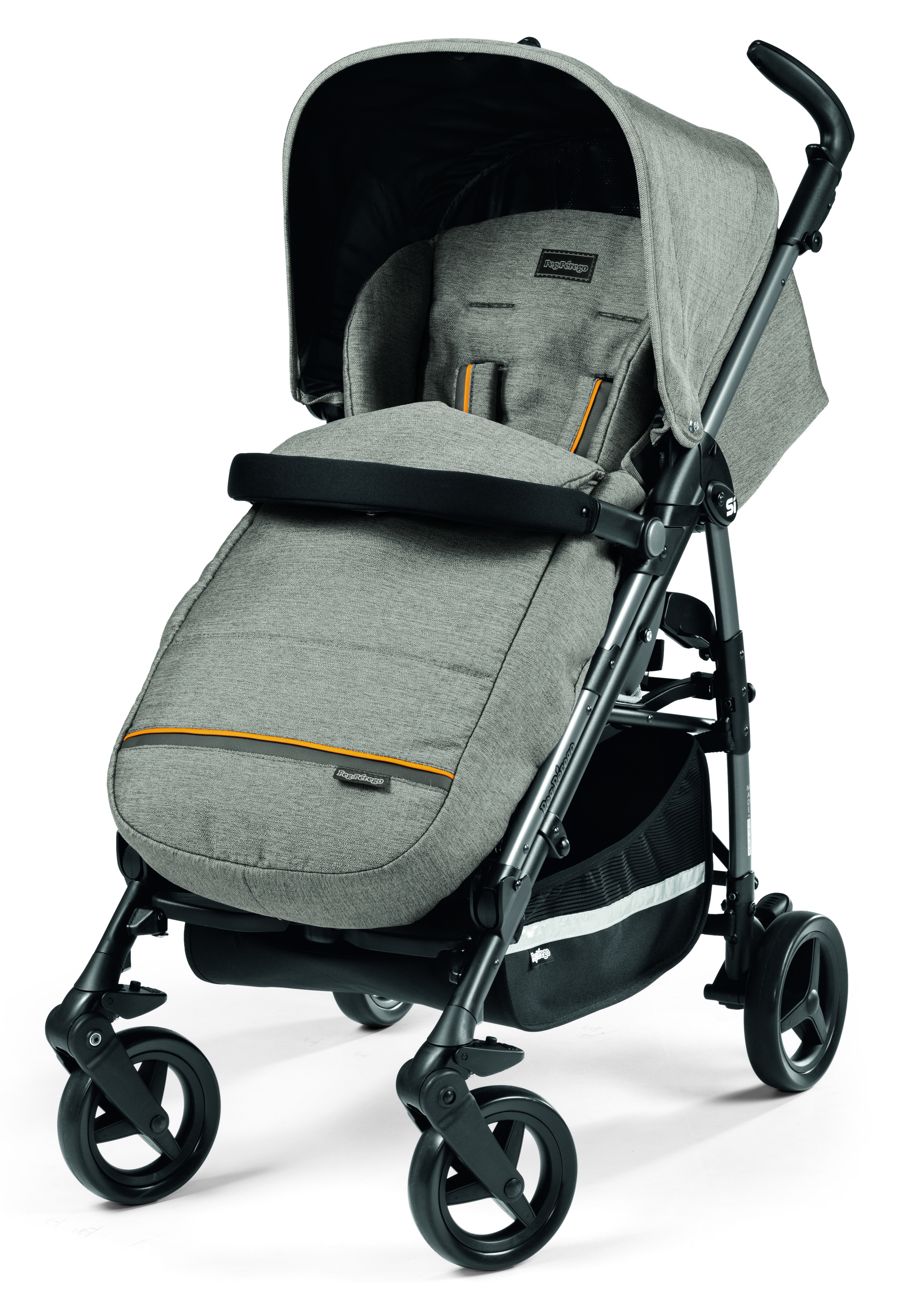 Прогулочная коляска Peg-Perego Si Completo Luxe Grey