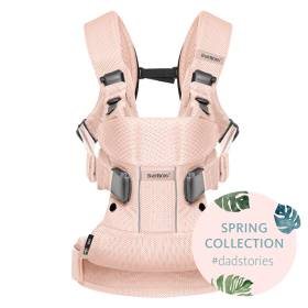 Рюкзак - кенгуру BabyBjorn One Air Mesh 0930.12 Розовый