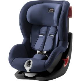 Детское автокресло Britax/Romer King II Black Series Moonlight Blue