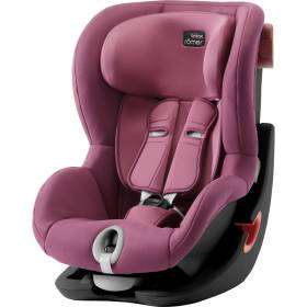 Детское автокресло Britax/Romer King II Black Series Wine Rose