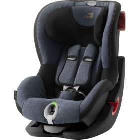 Детское автокресло Britax/Romer King II LS Black series Blue Marble