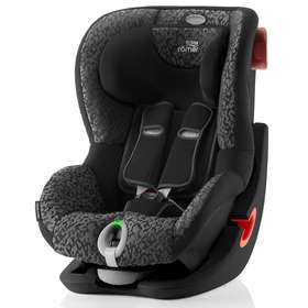 Детское автокресло Britax/Romer King II LS Black series Mystic Black