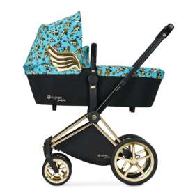 Коляска 2 в 1 Cybex Priam Lux Cherubs by Jeremy Scott Baby BLUE