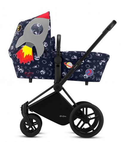 Коляска 2 в 1 Cybex Priam Lux by Anna K Space Rocket Pop Star