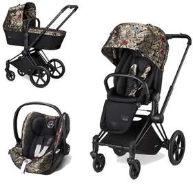 Коляска 3 в 1 Cybex Priam Lux Butterfly Collection