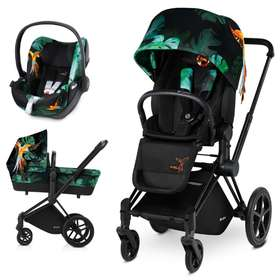 Коляска 3 в 1 Cybex Priam Lux Birds of Paradise