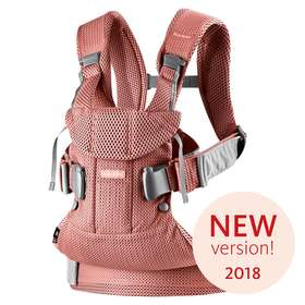 Рюкзак-кенгуру BabyBjorn One Air Vintage rose/Mesh арт.0980.05