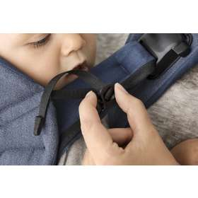 Рюкзак-кенгуру BabyBjorn One Black/Cotton Mix арт.0980.23