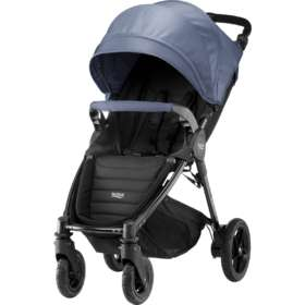 Прогулочная коляска  Britax / Romer B-Motion 4 Plus Blue Denim