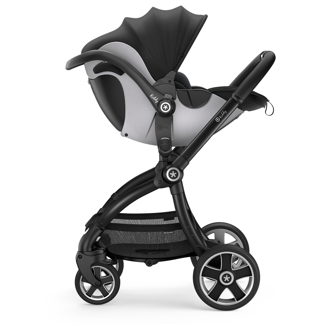 Автокресло детское Kiddy Evoluna i-Size 2 Speed Black GT