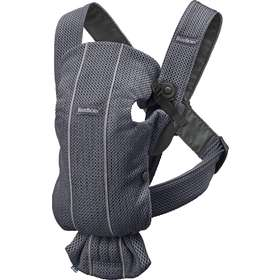 Рюкзак-кенгуру BabyBjorn Mini 3D Mesh Anthracite арт.0210.13