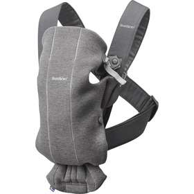 Рюкзак-кенгуру BabyBjorn Mini 3D Jersey Dark gray арт. 0210.84