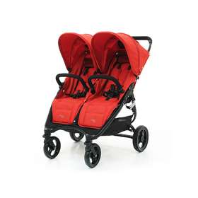 Прогулочная коляска для двойни Valco Baby Snap Duo Fire Red