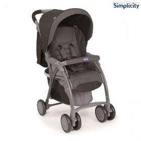 Прогулочная коляска Chicco Simplicity Plus Top Antracite