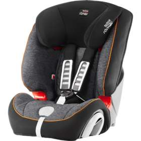 Автокресло детское Britax/Romer Evolva 1-2-3 Plus Black Marble
