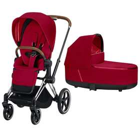 Коляска 2 в 1 Cybex Priam Lux True Red