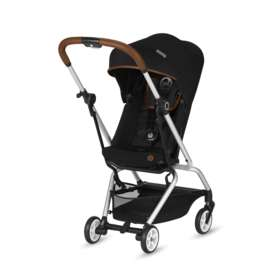 Прогулочная коляска Cybex Eezy S Twist Denim Collection Lavastone Black