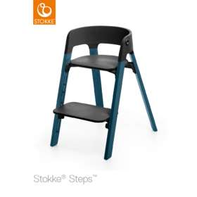 Стульчик Stokke Steps Beech Wood Chair Seat Black