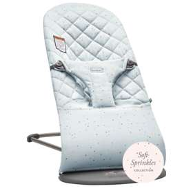 Кресло-шезлонг BabyBjorn Bliss Cotton Blue / Sprinkles  0060.79A