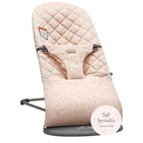 Кресло-шезлонг BabyBjorn Bliss Cotton Pink / Sprinkles 0060.77A