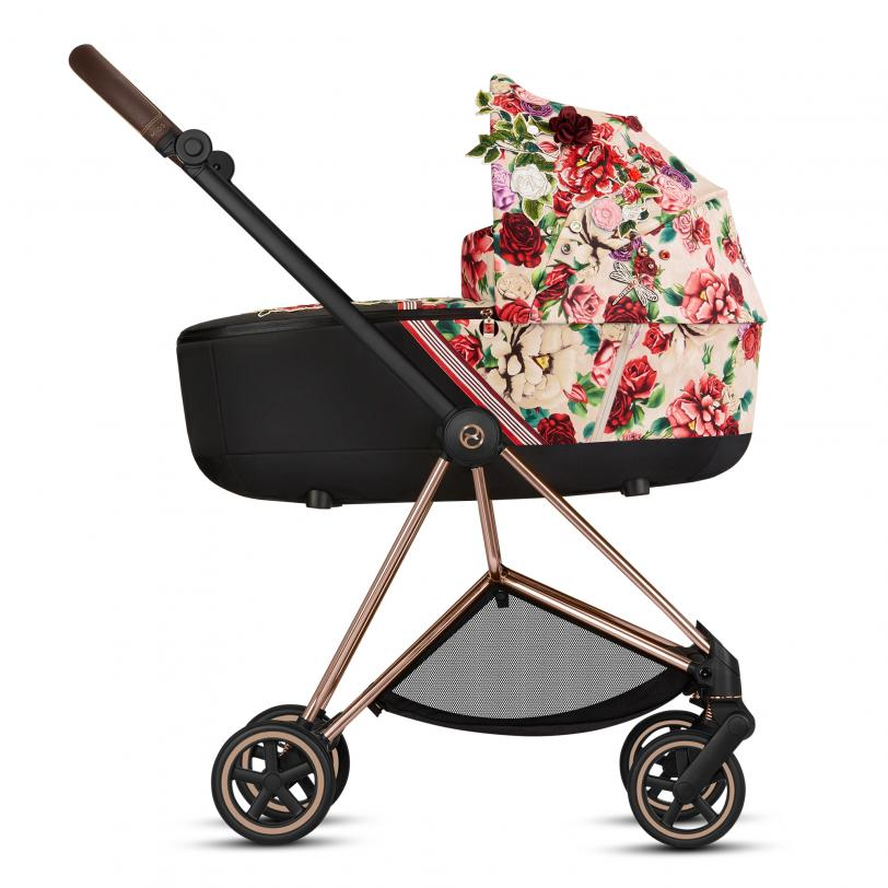 Люлька Cybex Mios Lux Carry Cot Spring Blossom Light