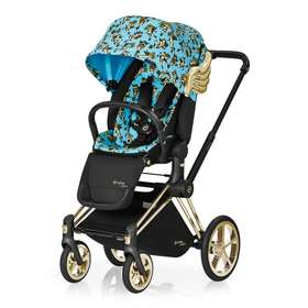 Прогулочная коляска Cybex Priam Lux by Jeremy Scott Cherubs Blue