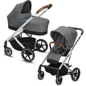 Коляска 2 в 1 Cybex Balios S Denim Manhattan Grey