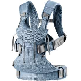 Рюкзак-кенгуру BabyBjorn One Air Slate Blue/Mesh арт. 0980.20