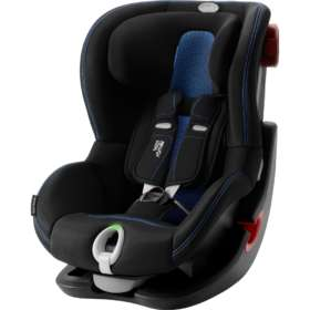Детское автокресло Britax/Romer King II LS Black series Cool Flow - Blue