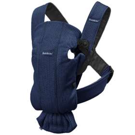 Рюкзак-кенгуру BabyBjorn Mini 3D Mesh Navy Blue арт.0210.08