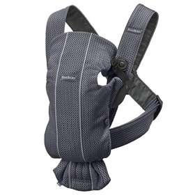 Рюкзак-кенгуру BabyBjorn Mini 3D Mesh Anthracite арт. 0210.13