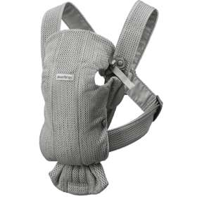 Рюкзак-кенгуру BabyBjorn Mini 3D Mesh Grey арт. 0210.18