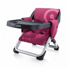 Стул Concord Lima Travel Highchair - PINK